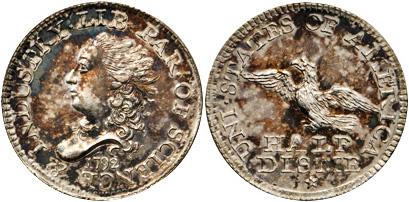 1792 Half Disme. Judd-7. Rarity-4. Silver. MS-63 (PCGS).