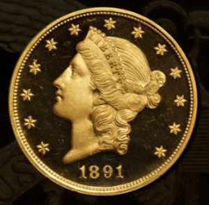 1891 Double Eagle Rarity